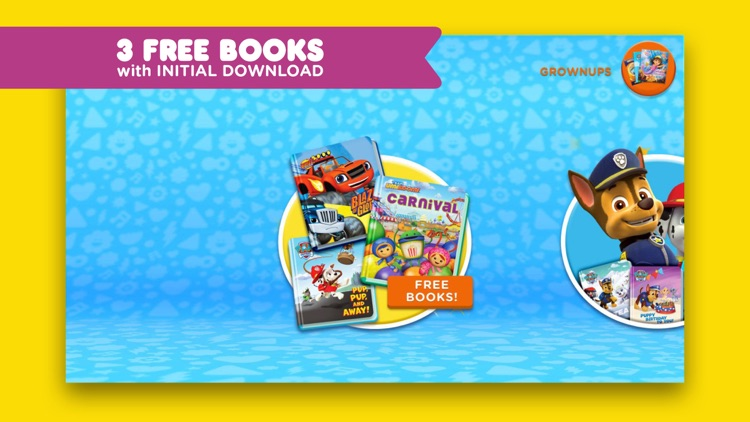 Nick Jr. Books – Read Interactive eBooks for Kids screenshot-0