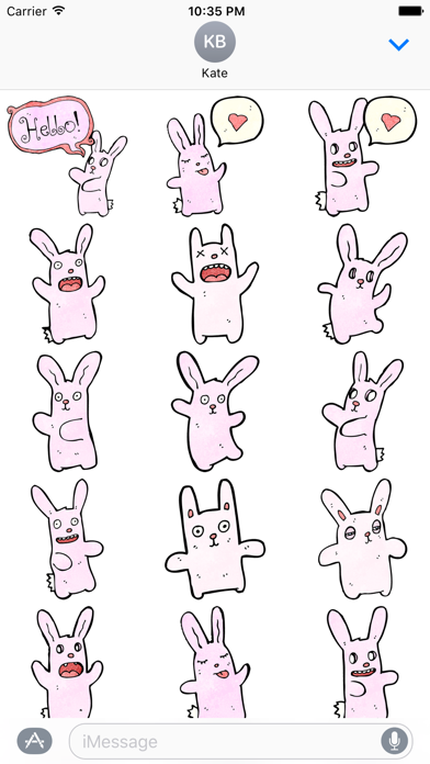 Bunnies! The DoodleBomb Collection screenshot one