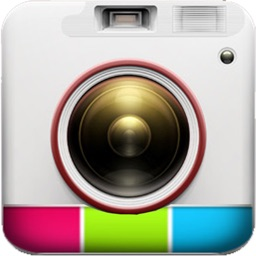 Insta Photo Collage + Picture Caption Editor