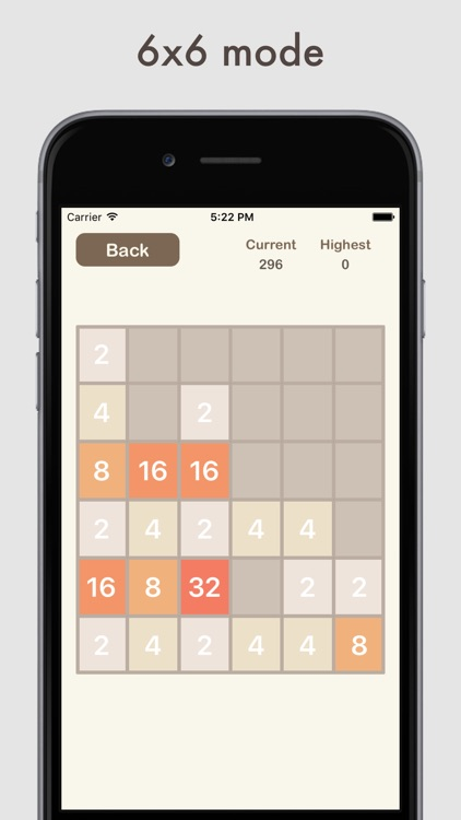 All 2048 - 3x3, 4x4, 5x5, 6x6 and more in one app!