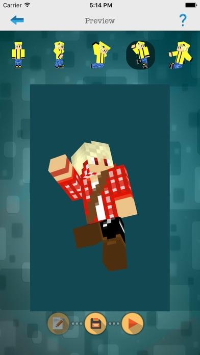 Custom 3d Boys Skin Editor For Minecraft Pepc App Bewertung