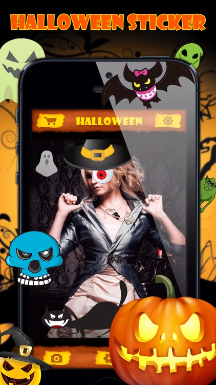 Halloween Emoji Stickers Pro - Face Photo Makeup screenshot-3