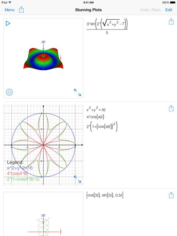 Screenshot #2 for PocketCAS Mathematics Toolkit