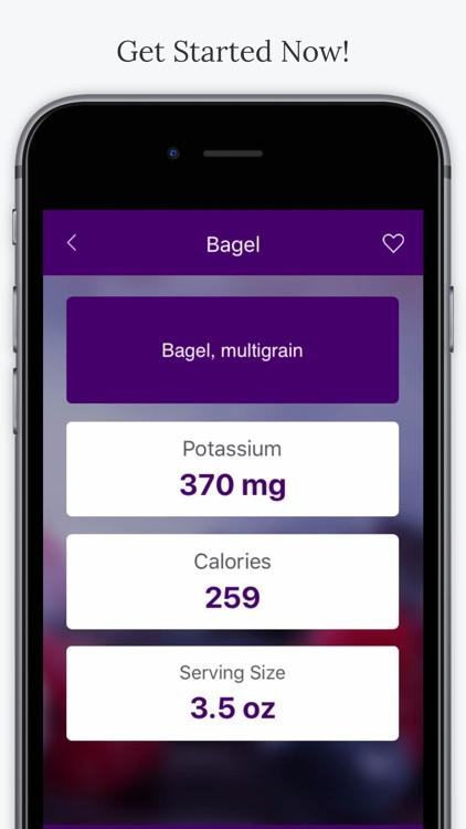 Potassium In Foods screenshot-4