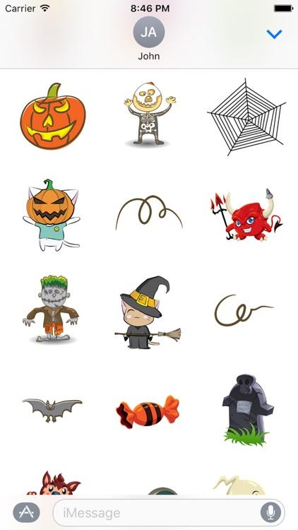 Halloween Kitty Sticker