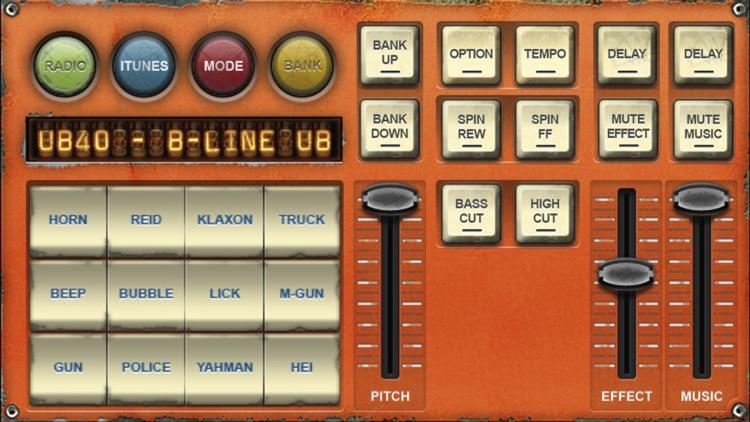 Dub Siren DX -DJ Mixer Synth + Reggae Dub Radio screenshot-3