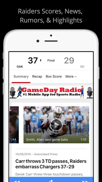 Oakland GameDay Live Radio - Raiders Nation and Warriors Edition