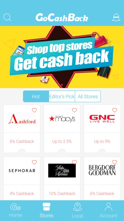 GoCashBack - Top Cash Back Site with Hot Deals