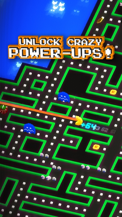 Screenshot from PAC-MAN 256 - Endless Arcade Maze