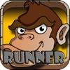 jungle monkey junior run eat banana games for kids