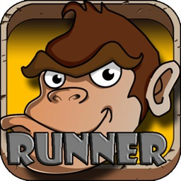 jungle monkey junior run eat banana games for kids
