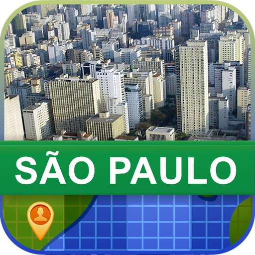 Offline Sao Paulo, Brazil Map - World Offline Maps icon