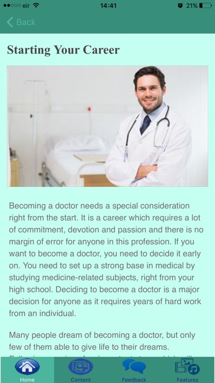 How To Become A Doctor screenshot-4