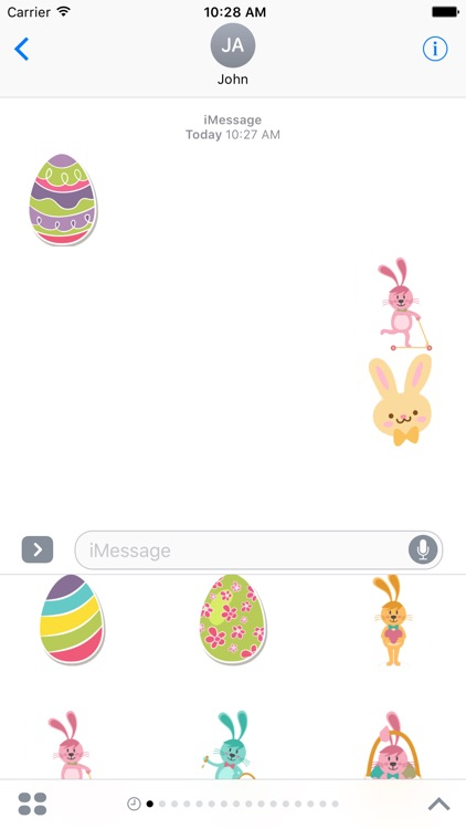 Easter Stickers For iMessage