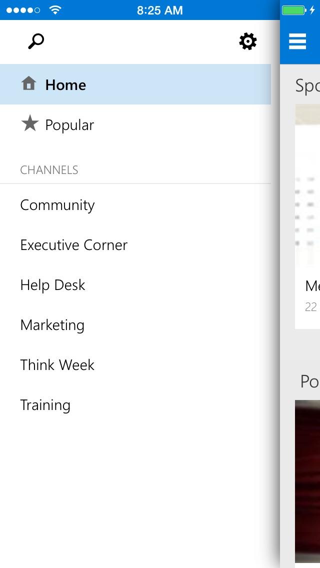 Office 365 ビデオ for iPhoneのスクリーンショット3