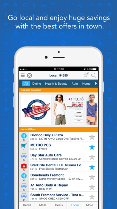 GeoQpons: Coupons, Sales and Shopping Deals app image