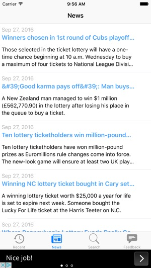 Lottery Results for Virginia on the App Store