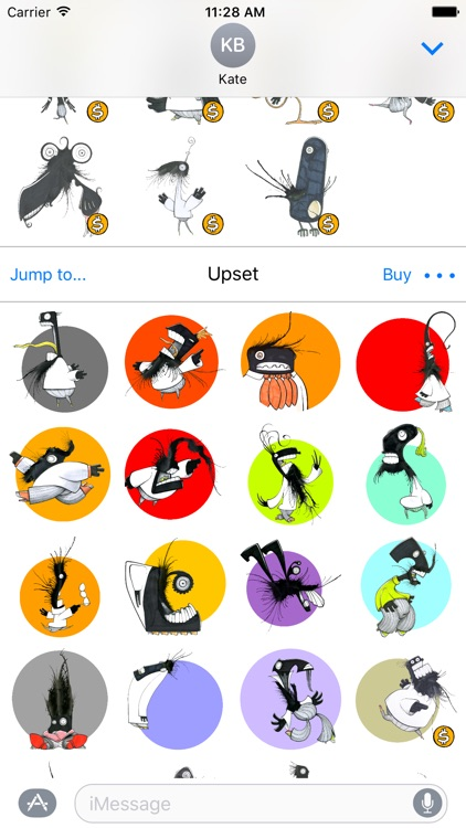 Daily Monster® Sticker Pack screenshot-4