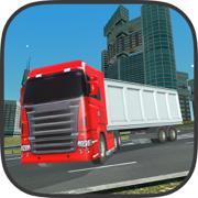 重型转运卡车模拟器 大城市停车场