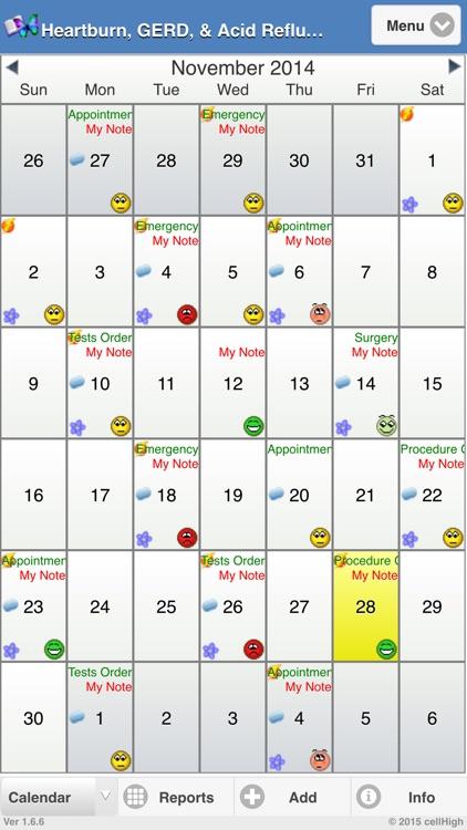 Heartburn, GERD, and Acid Reflux Diary