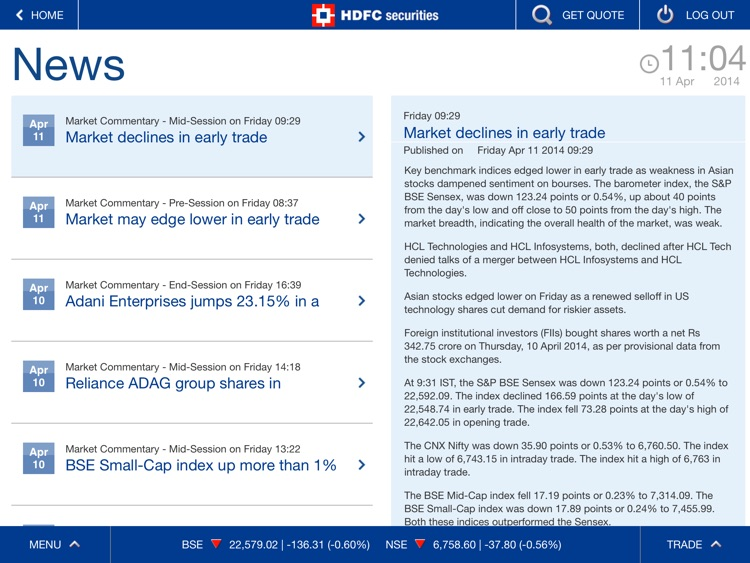 HDFC securities screenshot-4