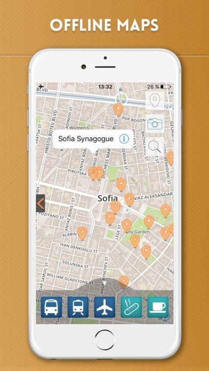 Sofia Travel Guide with Offline City Street Map screenshot-4