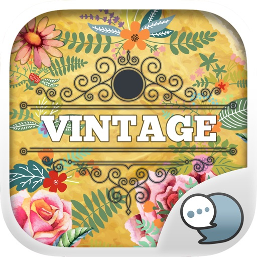 Vintage Emoji Stickers Keyboard Themes ChatStick