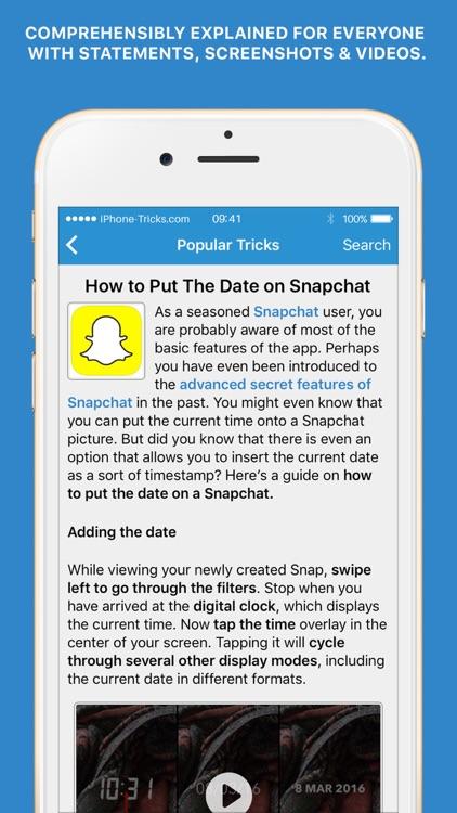 Tricks for iPhone (Pro) screenshot-3