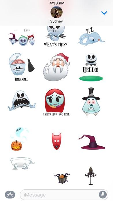 Disney Stickers: The Nightmare Before Christmas Screenshot