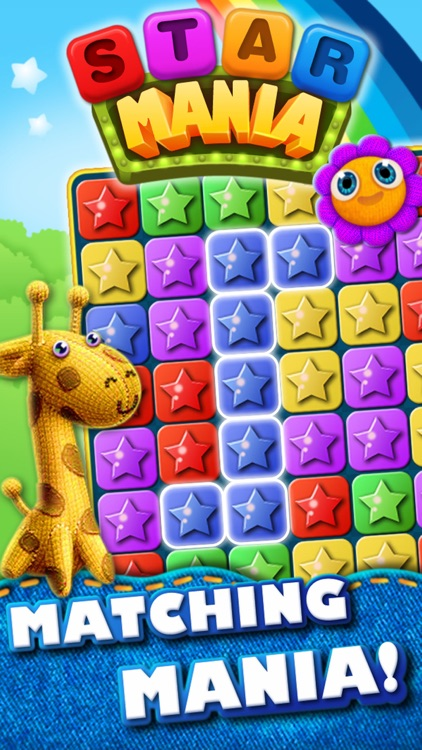 Star Mania Free - Block Crush Game