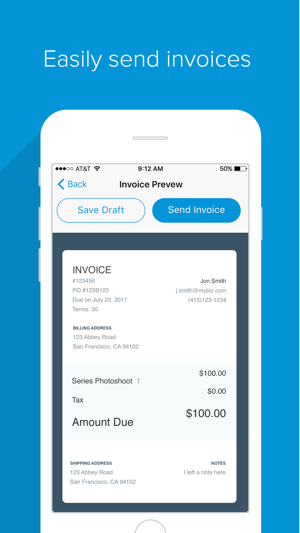 Flint Accept Cards No Dongles Invoicing On The App Store - What is a square invoice instant online store credit