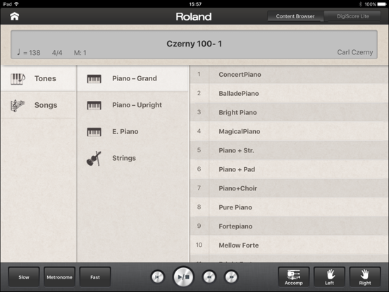 Piano Partner screenshot three