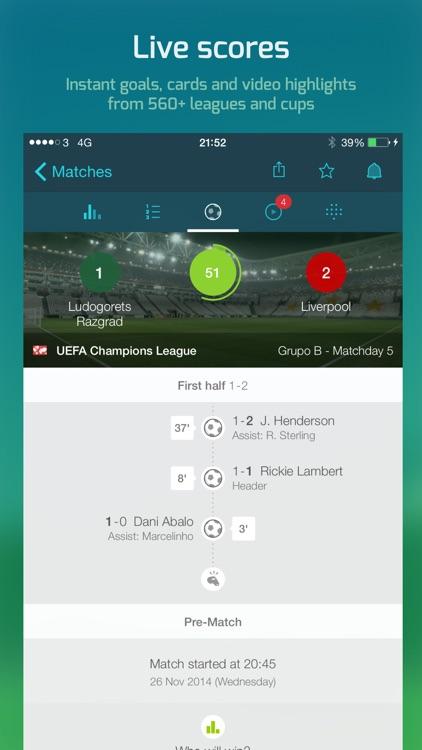 Forza Football - Soccer live scores & highlights screenshot-0
