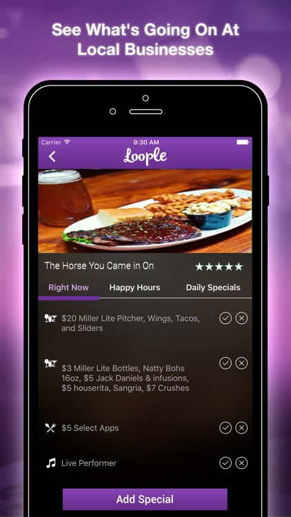 Loople: Happy Hour Finder