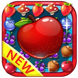 Fruit Garden Mania - Match-3 Link Swipe Blast