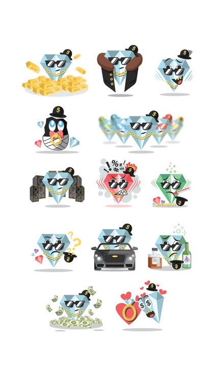 I'm Rich - Stickers Pack