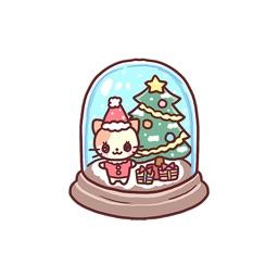 Cats Christmas - Merry Xmas Stickers