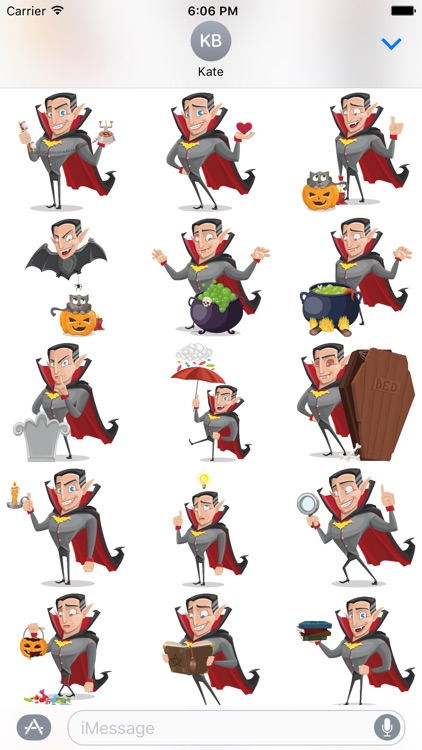 Count Transylvania - Funny Vampire Sticker Pack