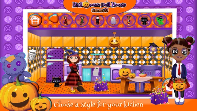 halloween doll house design decoration game s 3d on the app store