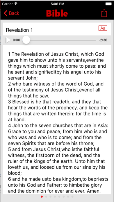 American Standard Version Bible (Audio) screenshot four
