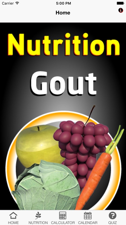 Nutrition Gout screenshot-0