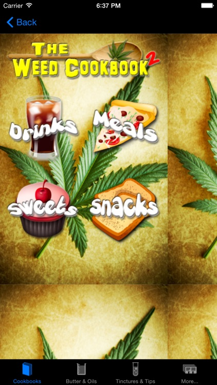 Mega Marijuana Cookbook - Cannabis Cooking & Weed screenshot-0