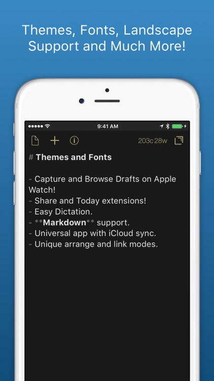 Drafts - Quickly Capture Notes, Share Anywhere! screenshot-3
