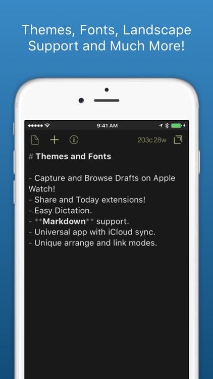 Drafts: Quick Capture screenshot-3