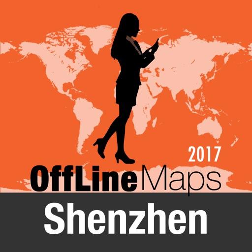 Shenzhen mapa offline y guía de viaje