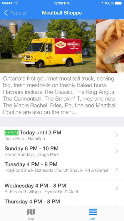 Street Food Toronto screenshot-2