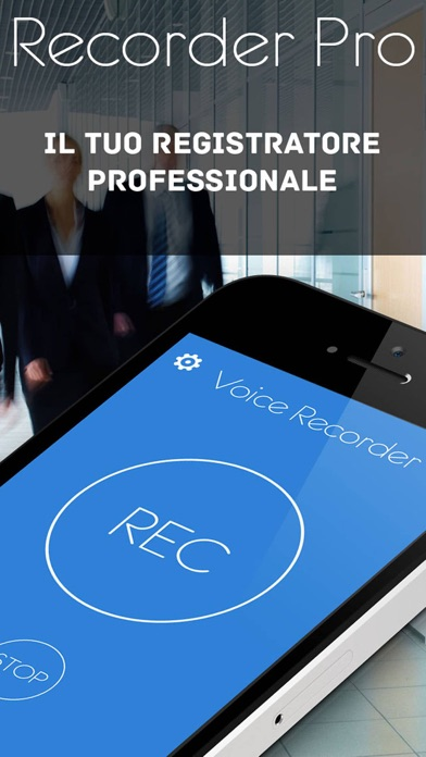 Registratore vocale Pro - registra appunti e note