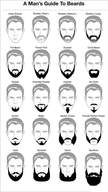 Beard Styles - Mens Styles screenshot-1