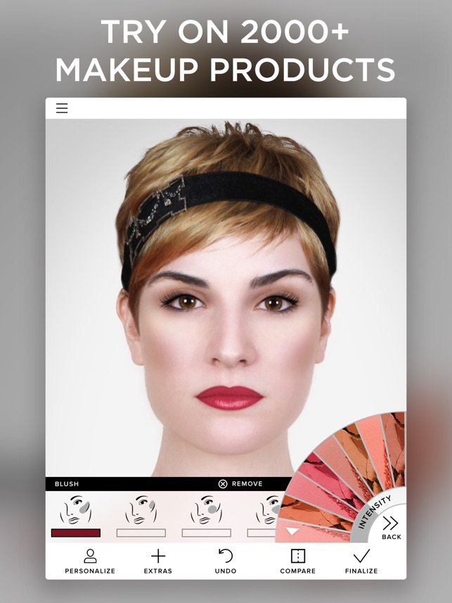 Virtual Makeover On The App Store - Best hairstyle app ipad
