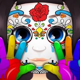 Finger Face Paint - Salon Game